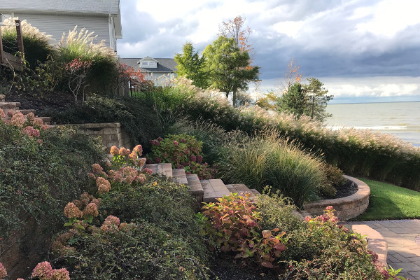 landscaping ideas by lake